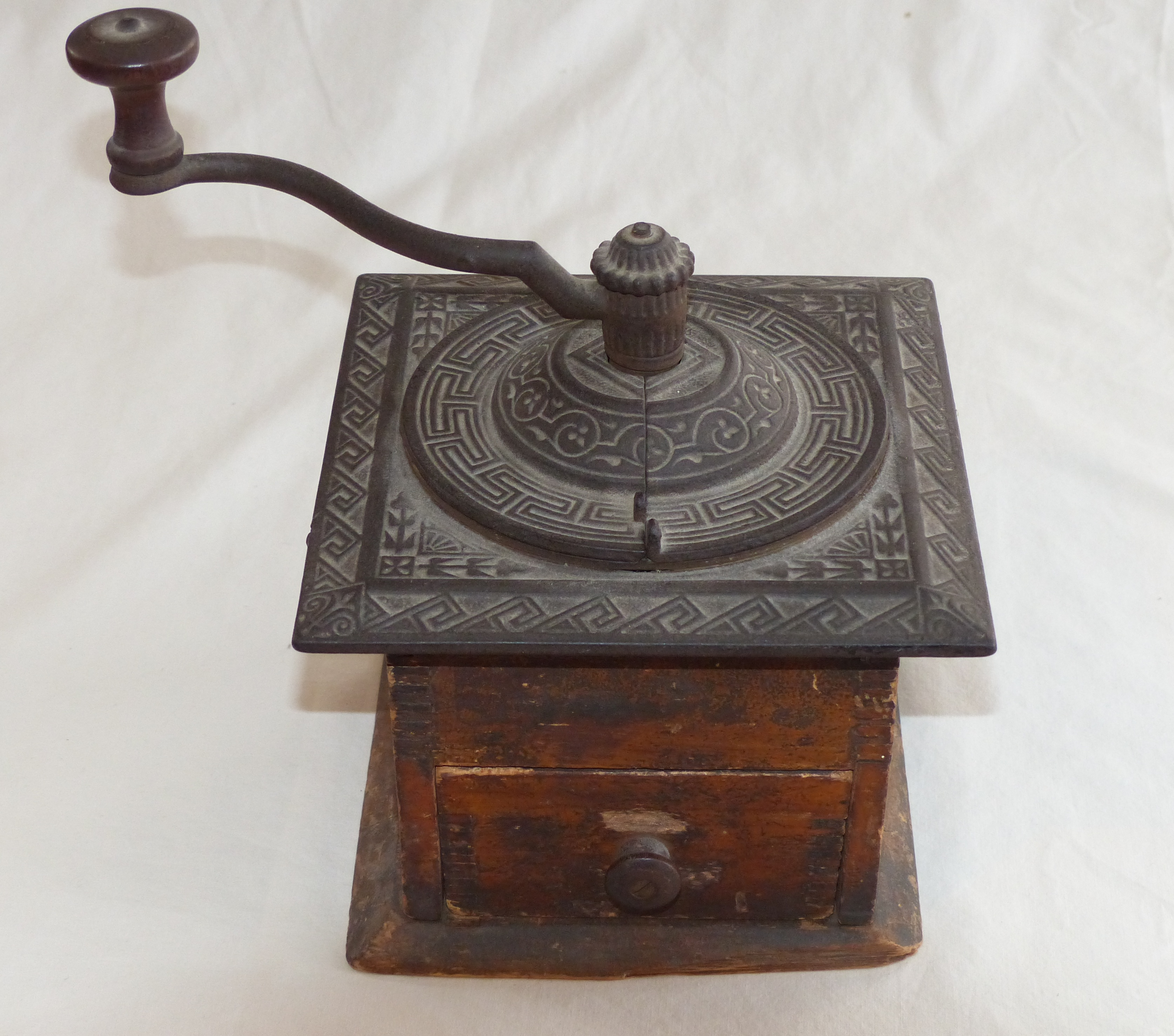 Old Coffee Grinders ~ An old coffee grinder blackenedroots
