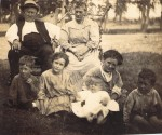 Joseph and Jane and grandkids
